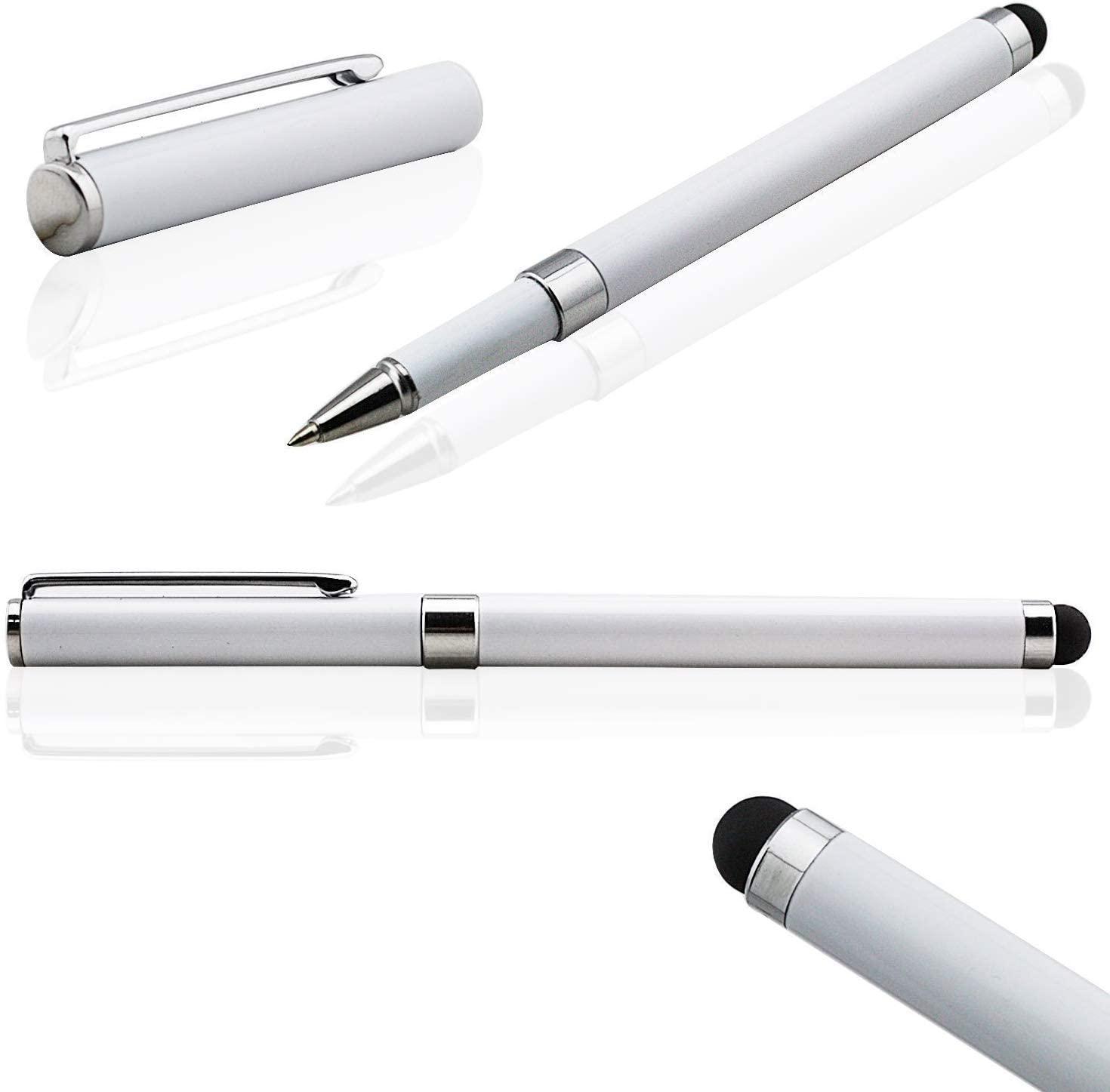 Tek Styz PRO Custom Stylus + Writing Pen with Ink for Nintendo Switch Lite ! [3 Pack-Silver]