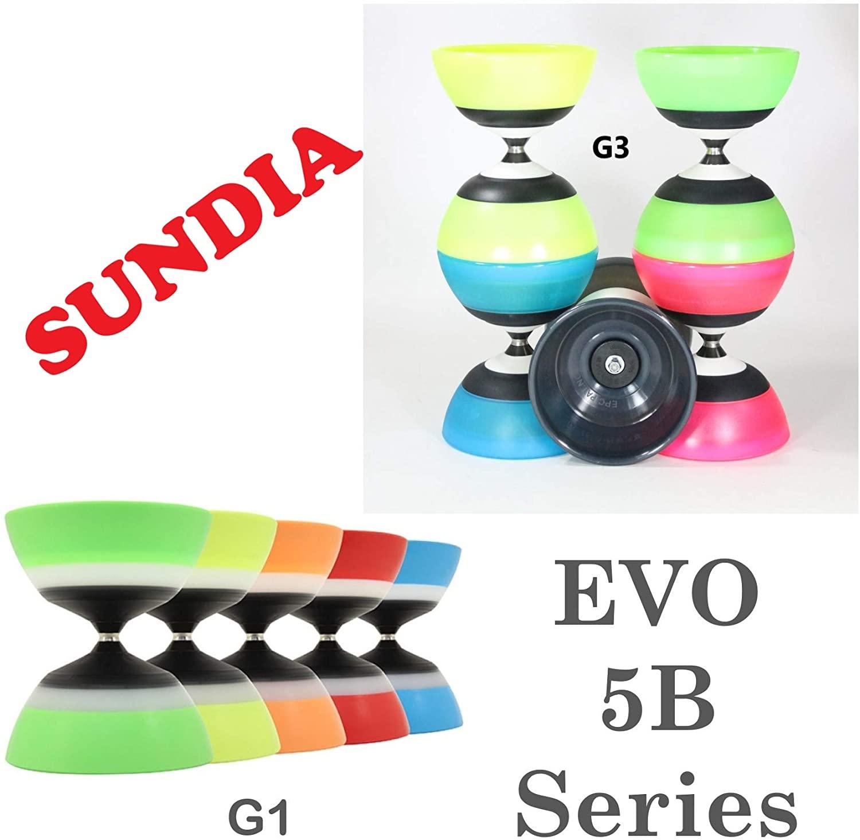 Sundia Evo 5B Diabolo Series - 5 Bearing - G3 (G3 Black)