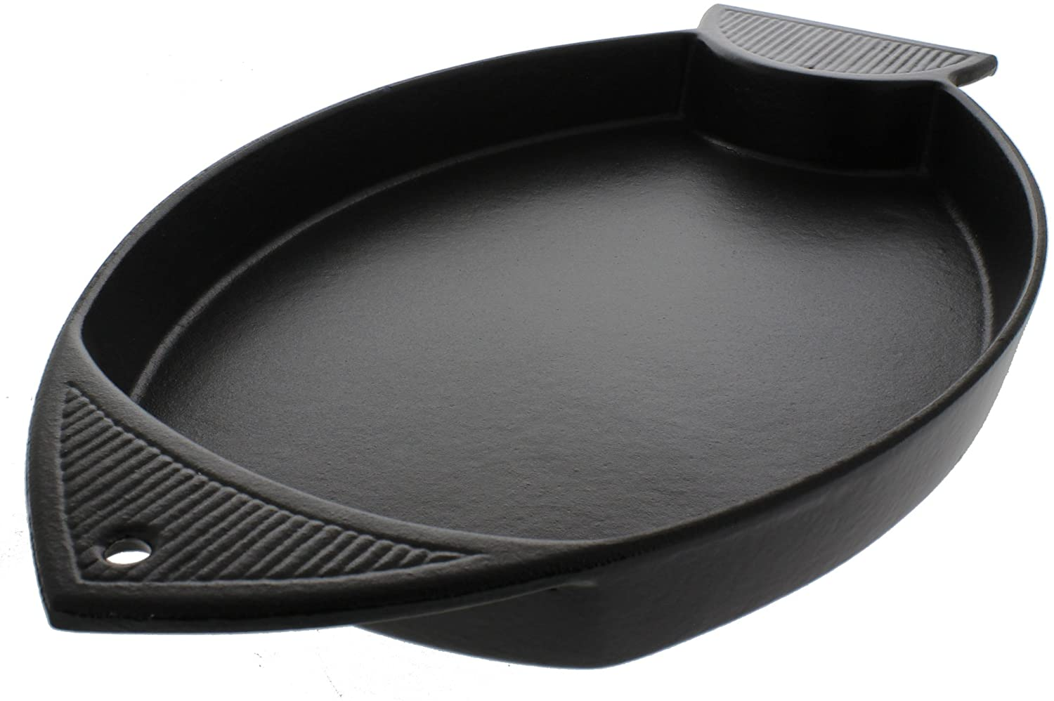 Chasseur 16-inch French Cast Iron Fish-shaped Grill