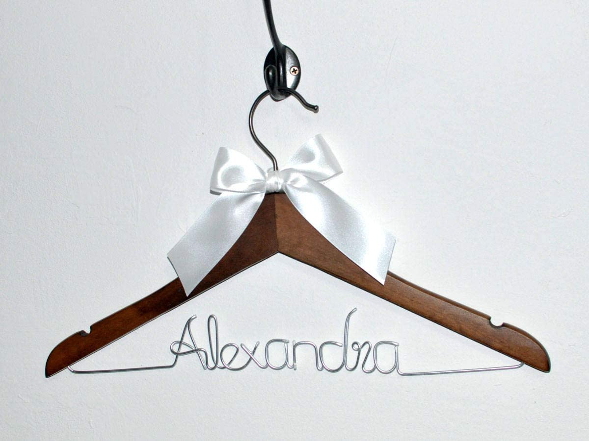 Flowershave357 Personalized Graduation Gifts Unique Gift Custom Name Hanger Custom Graduation Gift Doctor Name Hanger Dress Hanger Bridesmaid Gift