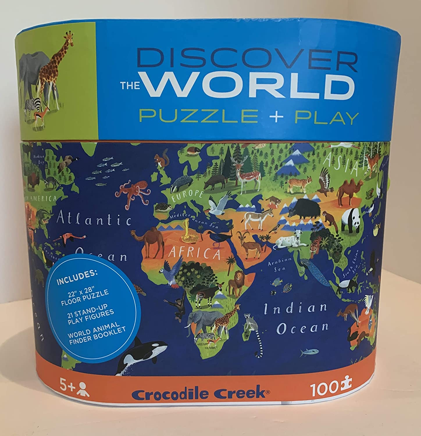 Crocodile Creek - Discover The World Puzzle + Play