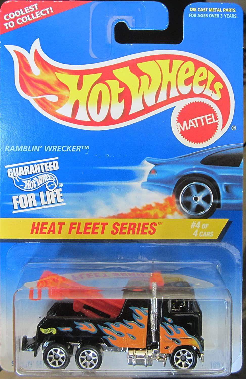 Hot Wheels Mattel Heat Fleet Series 4 of 4 Ramblin Wrecker 540