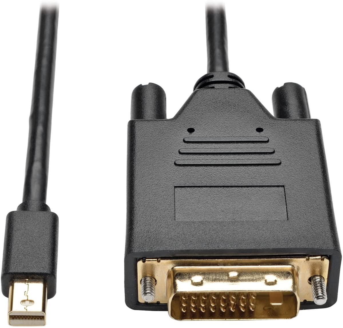 Tripp Lite Mini DisplayPort to DVI Active Adapter, MDP 1.2, MDP to DVI (M/M), MDP2DVI, 1080p, 3 ft. (P586-003-DVI-V2)