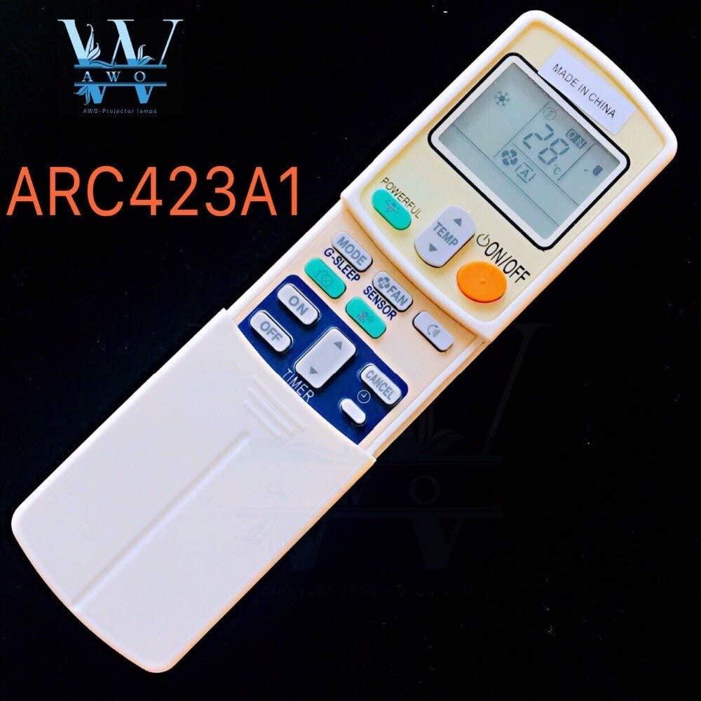 Calvas 100% New ARC423A1 For Daikin Remote control for air conditioner ARC423A2 ARC423A3 ARC423A5 ARC423A13 ARC423A17 ARC423A18