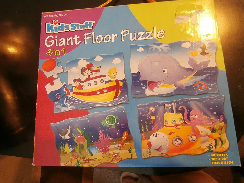 4 in 1 Giant Floor Puzzle