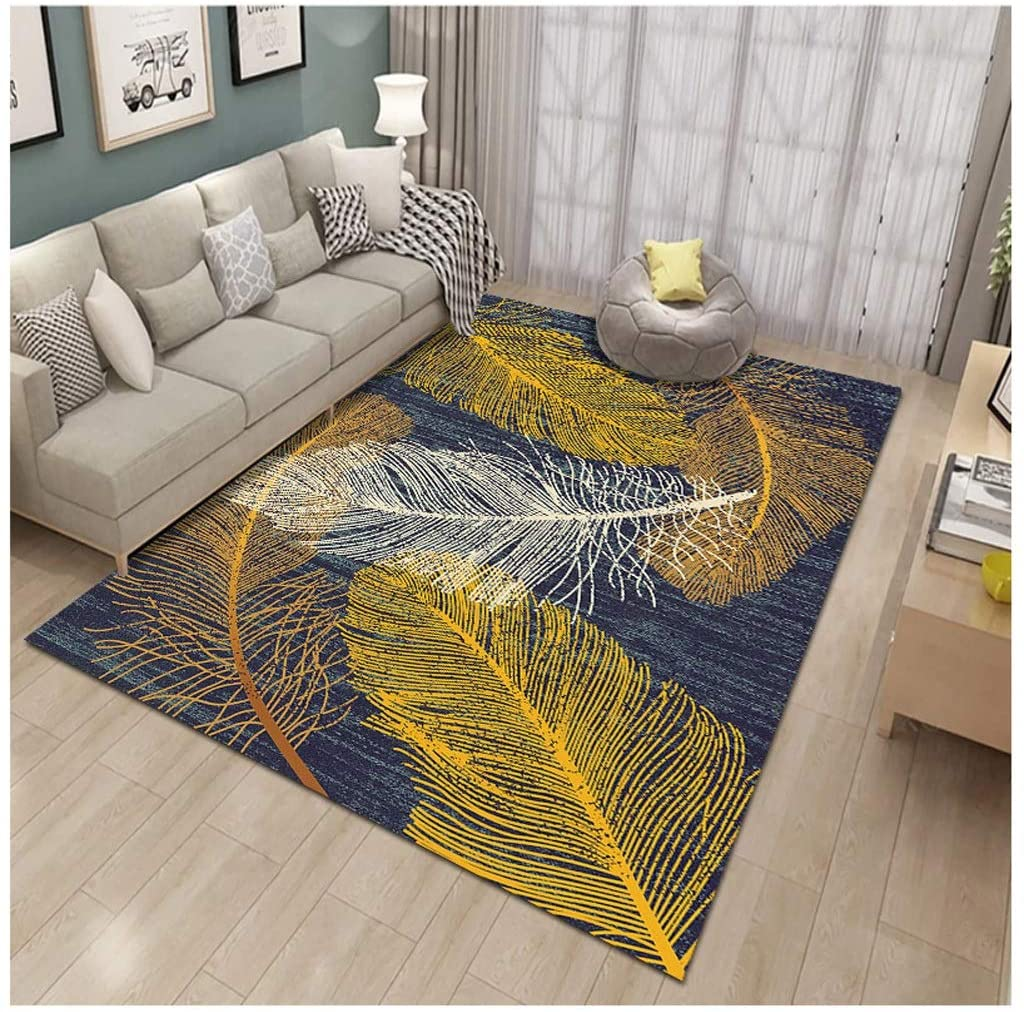 BGF Living Room Carpets, Home Carpet Floor Mats, Not Easy to Shed Hair, Plastic Bottom, Used for Home Decoration (Color : J, Size : 180280cm)