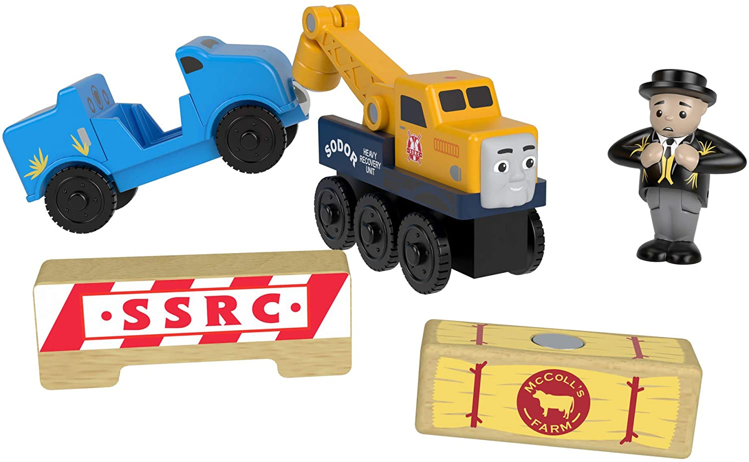 Thomas & Friends Fisher-Price Wood, Butch's Road Rescue