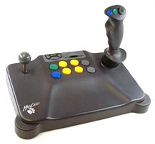 Mad Catz Analog and Digital Dual Arcade Joystick for the Nintendo 64
