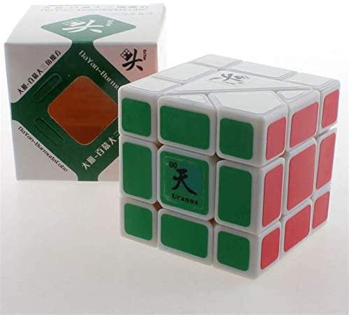 Dayan White Burmuda Uranus Speed Competition Magic Cube Puzzle Cube for Challenge