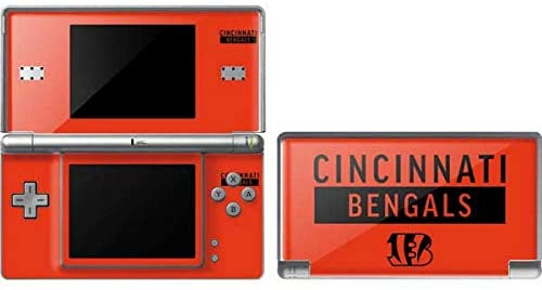 Skinit Cincinnati Bengals Orange Performance Series Skin for DS Lite - Officially Licensed NFL Gaming Decal - Ultra Thin, Lightweight Vinyl Decal Protection