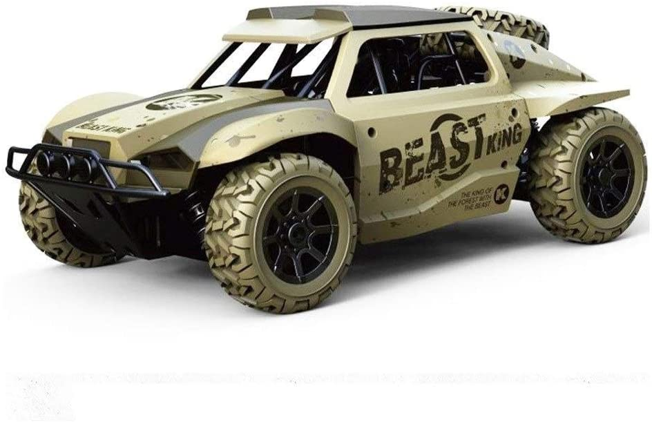 Xuess Off-Road Rock Vehicle Crawler Truck Electric Fast Race Buggy High Speed Radio Remote Control Racing Cars RC Stunt Car 2.4Ghz 4WD Remote Control Car (Color : Green)