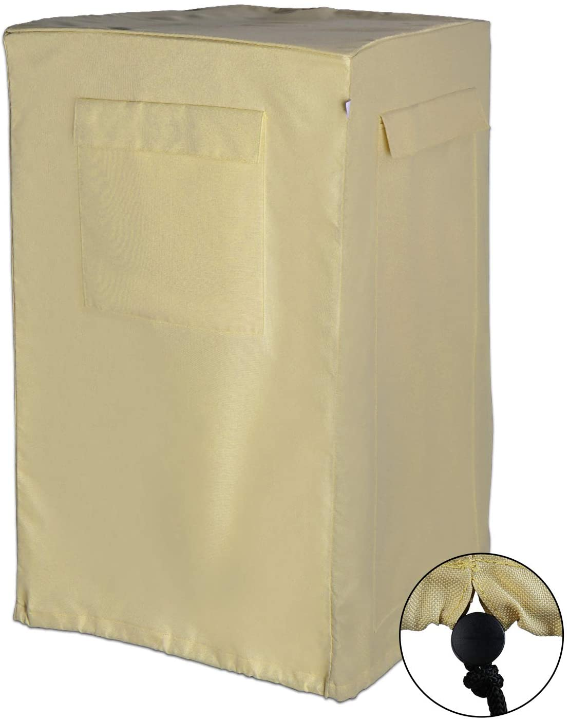TURBRO Air Conditioner Cover for Portable AC and Outside Units, Fits up to 21.7 x 19.7 x 35 Inches, Anti-Dust Storage Bags, Protection Cover for Home Appliances