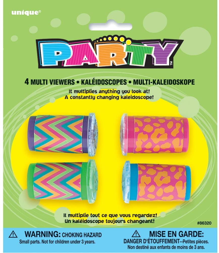 Kaleidoscope Party Favors, 4ct