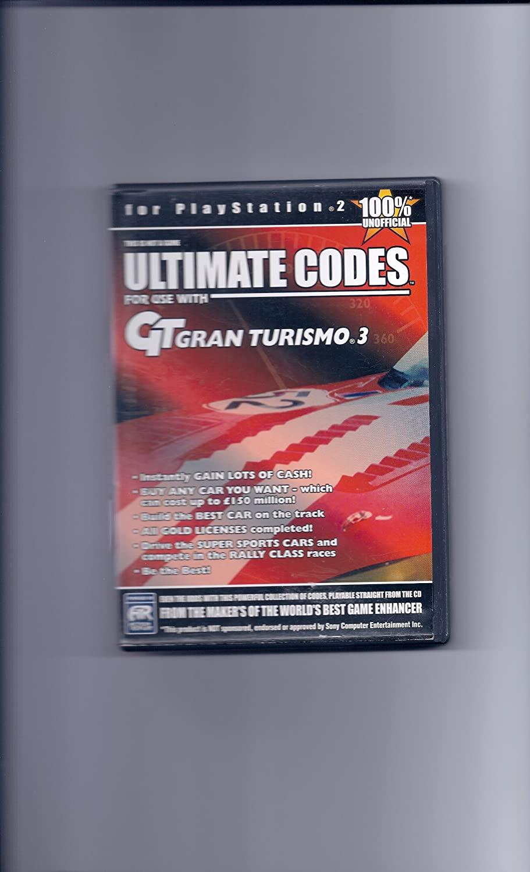 Ultimate Codes- Gran Turismo 3 - PlayStation 2