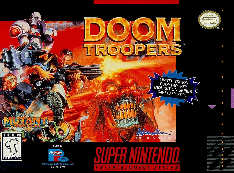 Doom Troopers: Mutant Chronicles