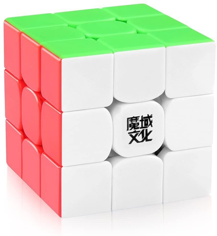 D-FantiX Moyu Weilong GTS V2 M Magnetic Speed Cube 3x3 Stickerless, Weilong GTS2 M Magic Cube Puzzle
