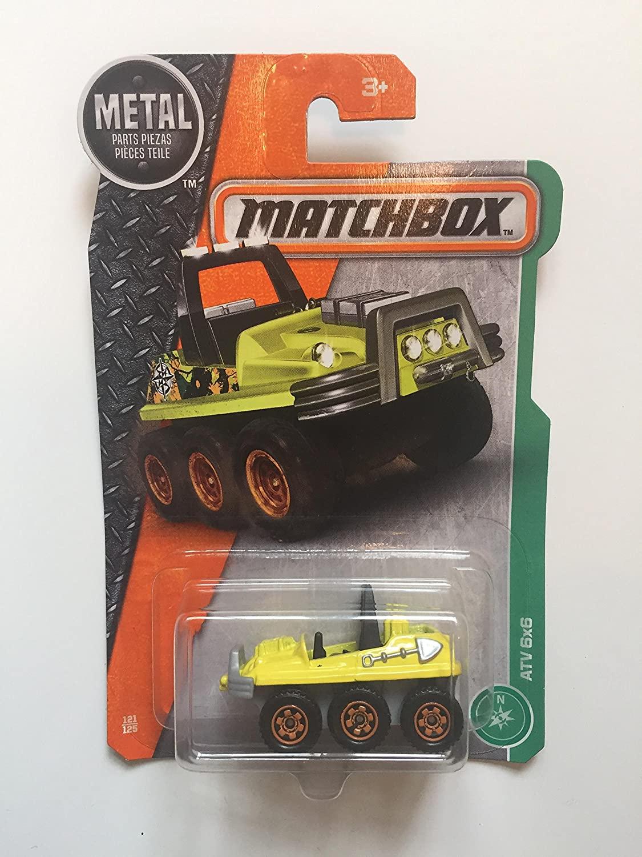 MATCHBOX - 2017 MBX ATV 6x6 121/125 (Yellow)