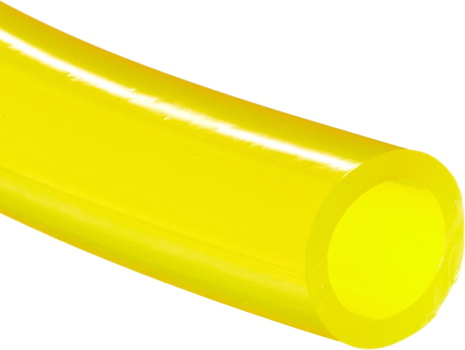Tygon F-4040-A PVC Fuel And Lubricant Tubing, 1/8 ID, 1/4 OD, 1/16 Wall, 50 Length, Yellow