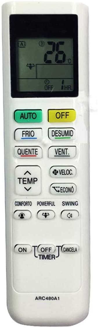 BOTTMA Remote Control ARC480A1 for Daikin ARC480A2 ARC480A3 ARC480A4 ARC480A5 ARC480A6 ARC480A7 ARC480A8 ARC480A9 ARC480A10 ARC480A11 ARC480A12