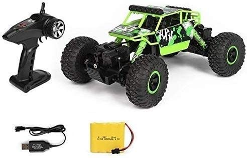 Xuess Remote Control Stunt Car Toy1:18 Off-Road Rock Climbing Car, 2.4GHz 4WD Remote Control All Terrain Climbing Car, High Speed Rally Cross Country Vehicle (Color : Green)