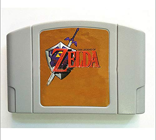 BrotheWiz Nintendo N64 Games The Legend Of Ocarina of Time English Language for 64 bit USA Version Video Game Cartridge Console
