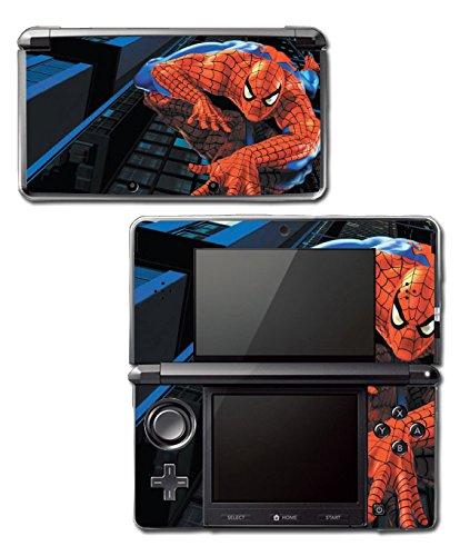 Amazing Spider-Man Spiderman 1 2 3 Cartoon Movie Video Game Vinyl Decal Skin Sticker Cover for Original Nintendo 3DS System