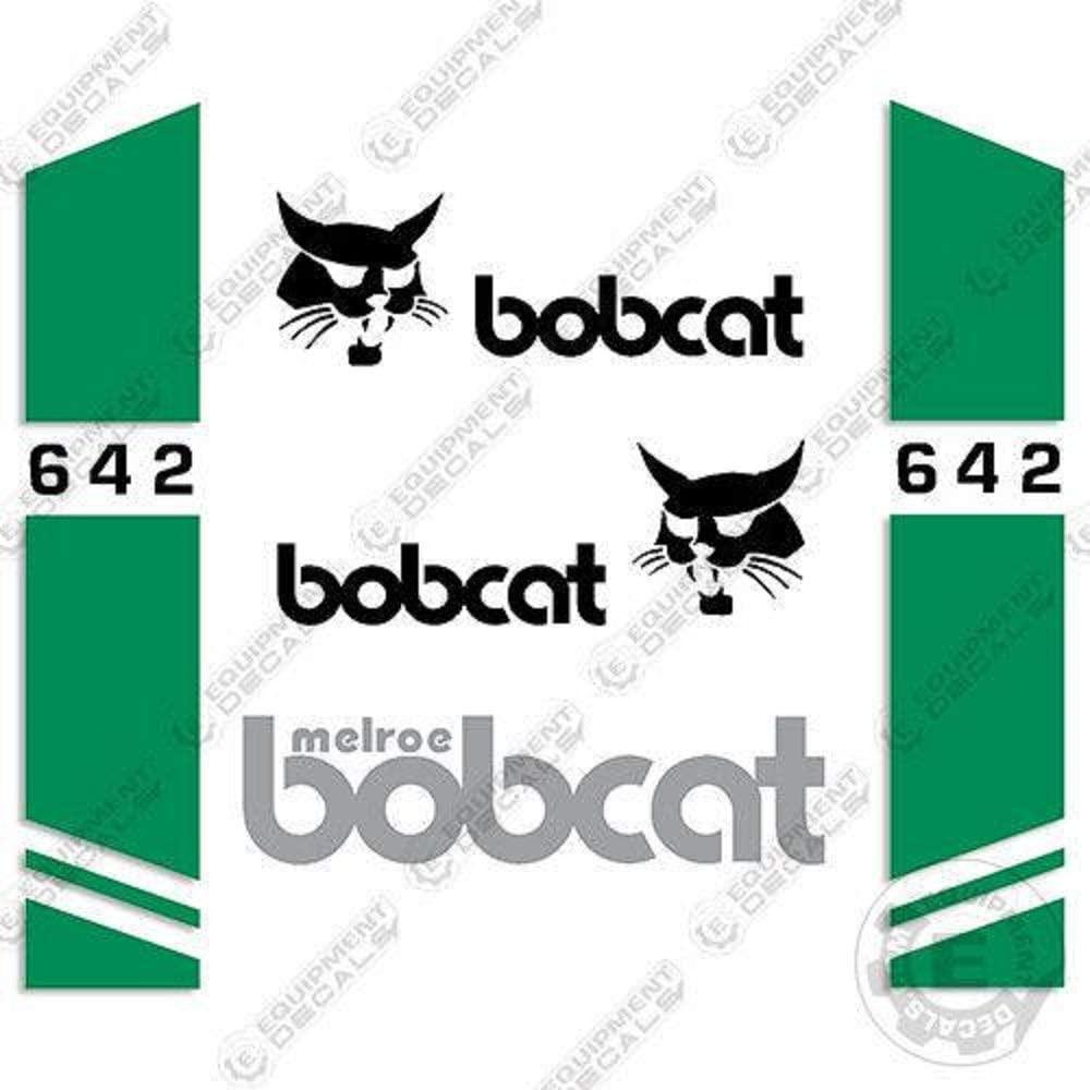 Bobcat 642 Skid Steer Decal Kit