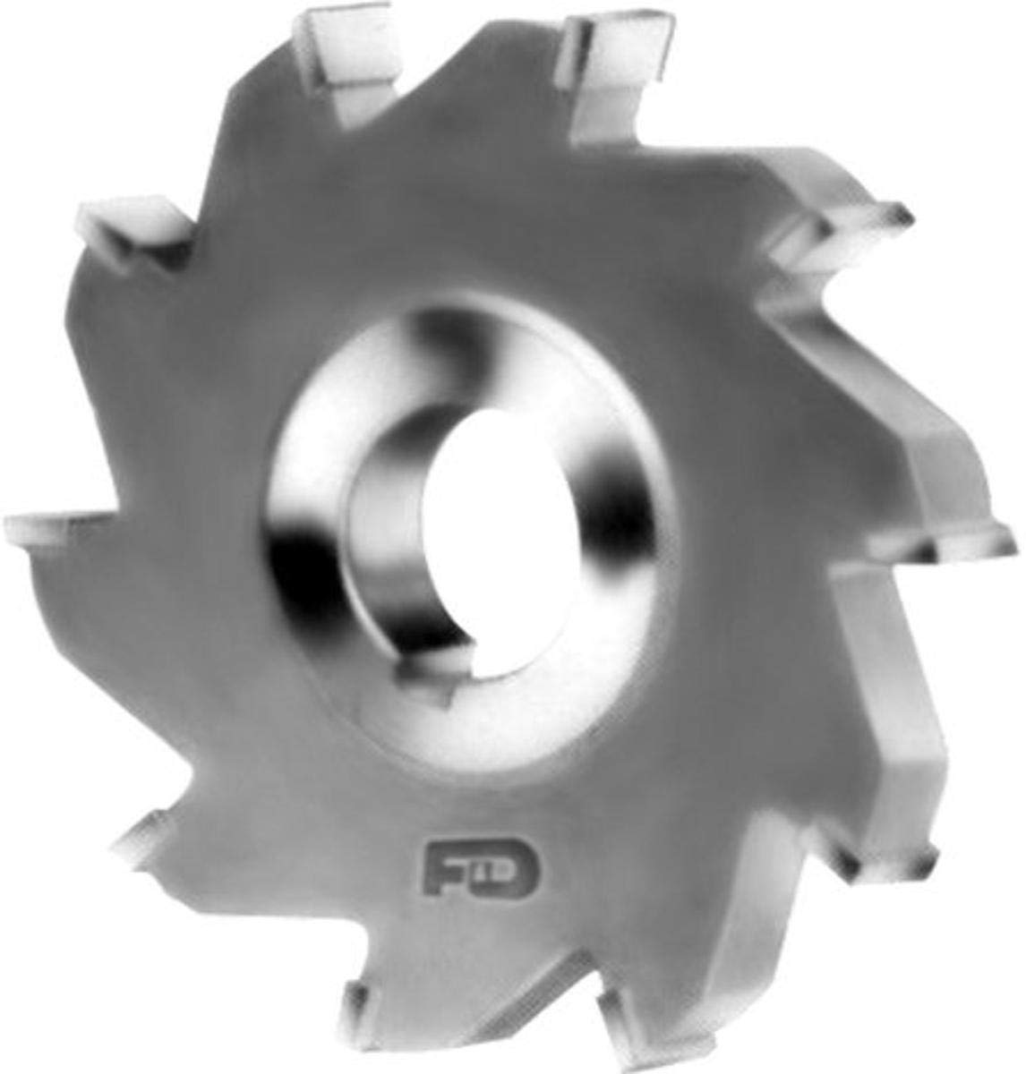 F&D Tool Company 12084-SC3081 Carbide Tipped Side Milling Cutter for Steel, 1