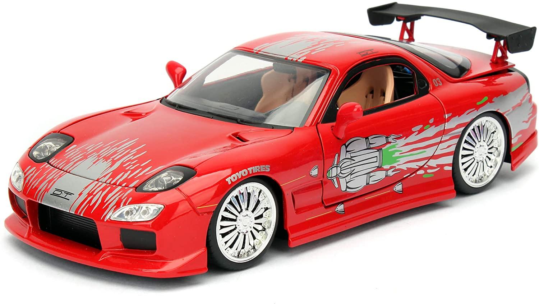 Jada Toys Fast & Furious 1: 24 Diecast - '93 Mazda RX-7 Vehicle, Multi (98338)