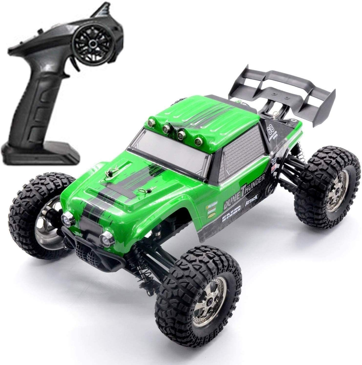 Xuess RC High Speed Car 4WD Remote Control Rook All Terrain Climbing Car,1:12 Scale High Speed RC Car Off-Road Electric Racing Vehicle, Birthday Collection Gift