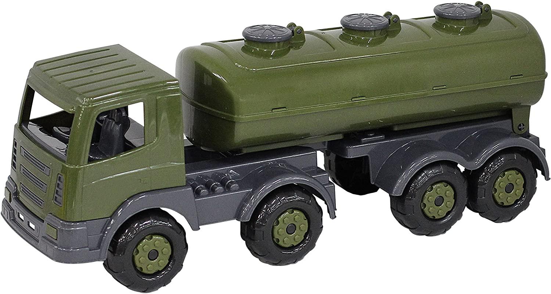 Polesie Polesie49162 Supertruck Military Tank Truck-Toy Vehicles, Multi Colour