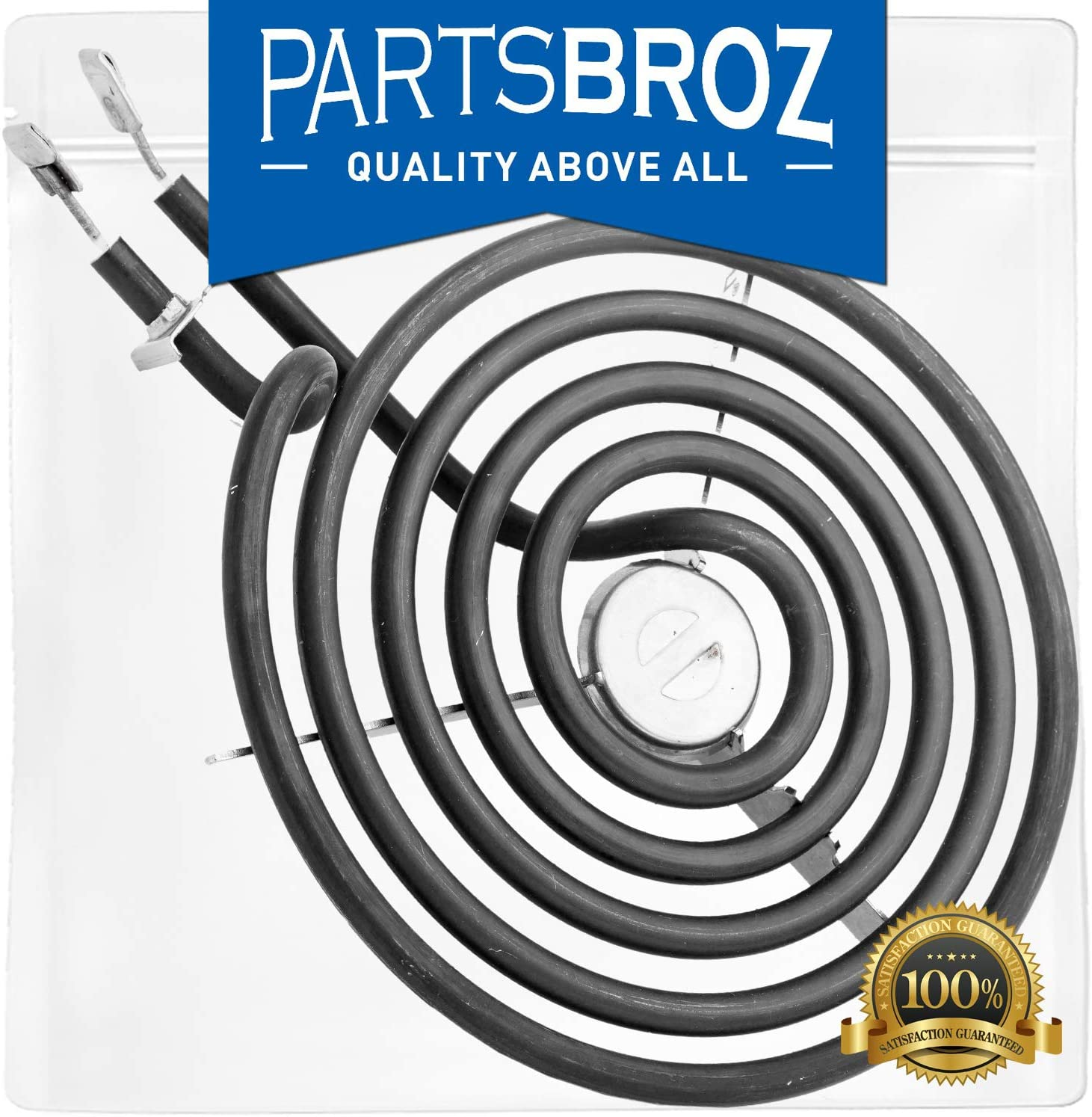 WB30M1 Surface Element 6-Inch Electric Range Burner by PartsBroz - Compatible with GE Ranges - Replaces AP2634727, AH243867, CH30M1, PS243867, WB30M0001, WB30X5129, YCH30M1