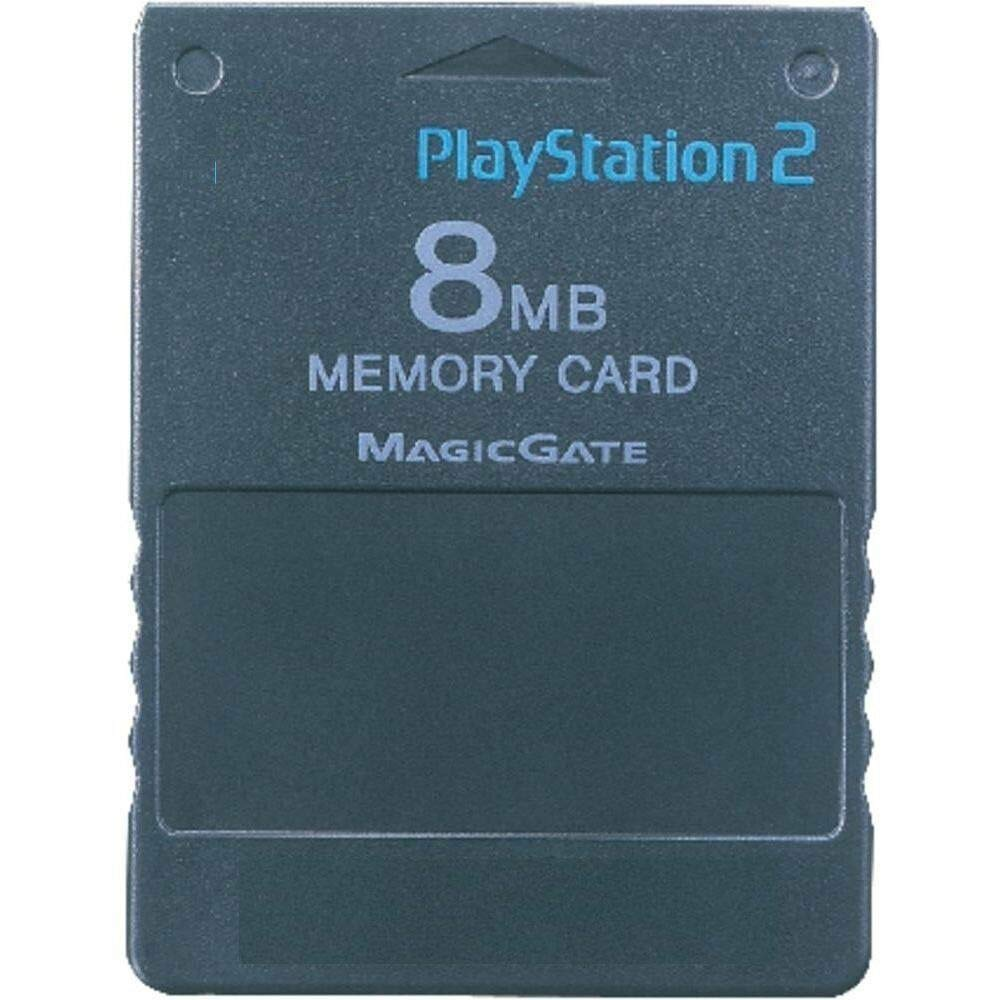 PlayStation 2 8MB Memory Card (Black)