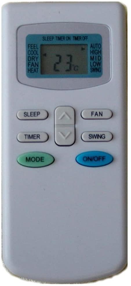 Calvas Replacement for TCL Air Conditioner Remote Control GYKQ-03