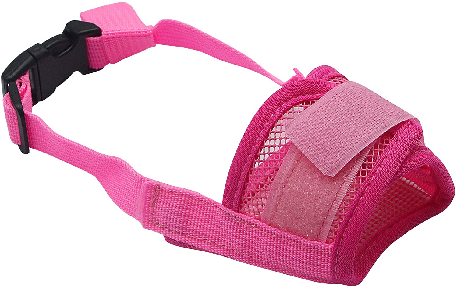 YAODHAOD Nylon Mesh Breathable Dog Mouth Cover, Quick Fit Dog Muzzle with Adjustable Straps,Pet Mouth Cover, to Prevent Biting and Screaming to Prevent Accidental Eating