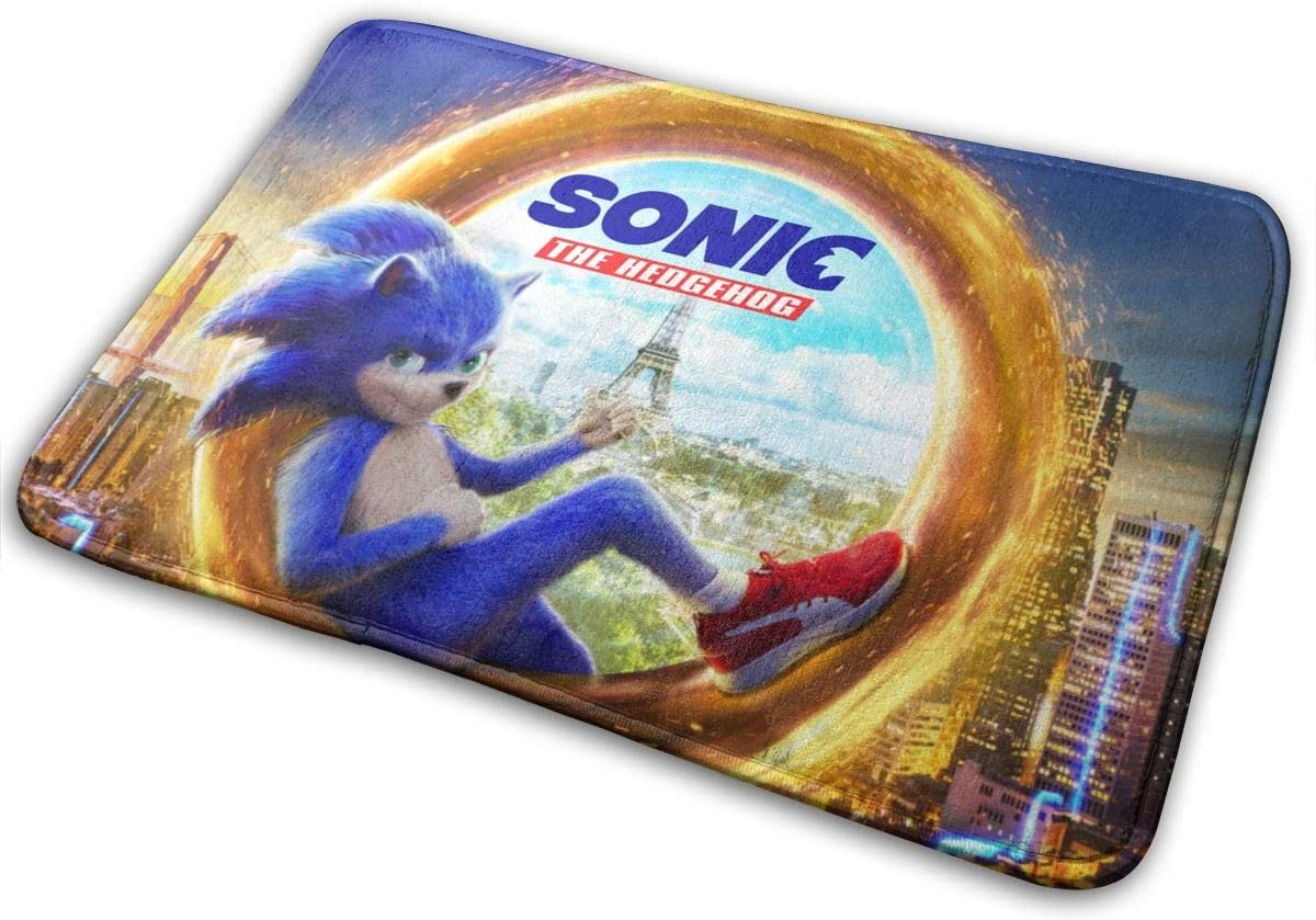 Dayada Sonic The Hedgehog Floor Mats Carpets Carpets for Living Room and Bedroom Interiors