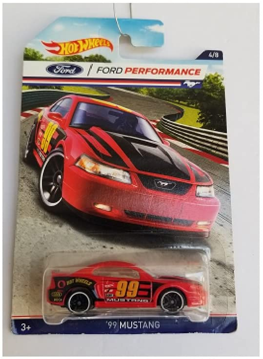 Hot Wheels Ford Performance 99 Mustang 4/8