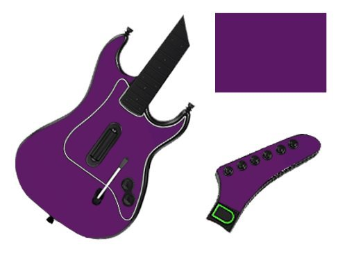 Groovy Green Vinyl Decal Faceplate Mod Skin Kit for PlayStation 2 Guitar Hero III 3 (GH3) by System Skins