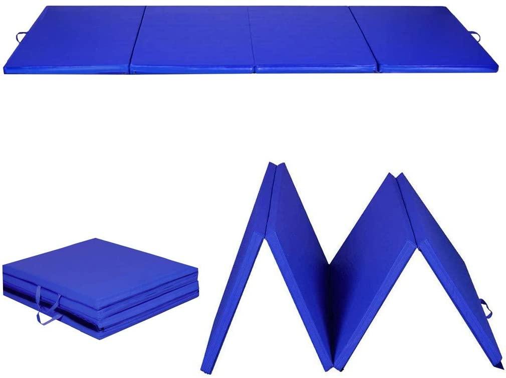 amidoa Gymnastics Tumbling Mats,All-Purpose 2 'x 8' x 2