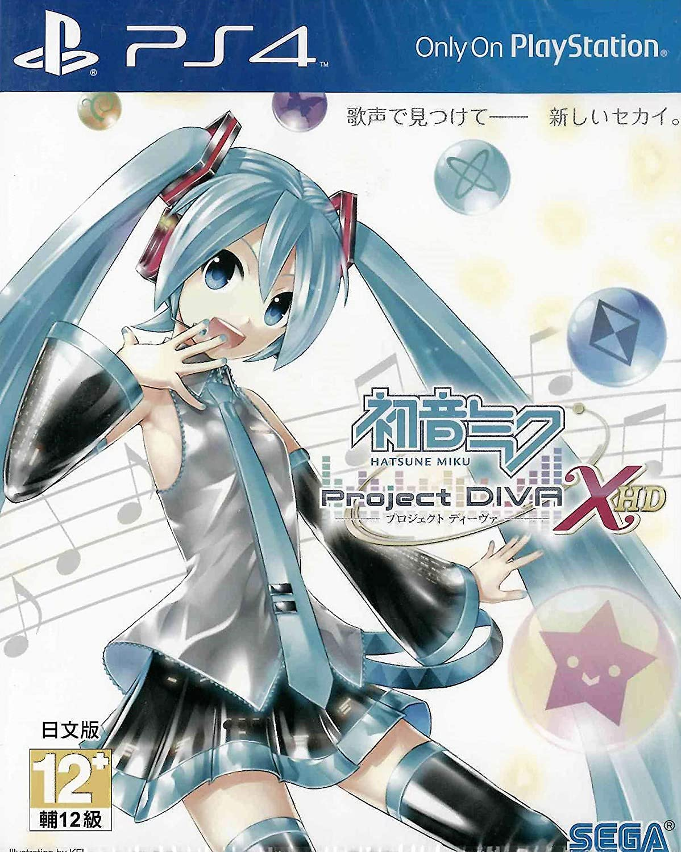PS4 HATSUNE MIKU -PROJECT DIVA- X HD (JAPANESE) (ASIA)