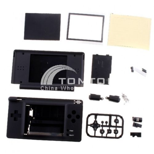 Black Full Housing Shell Case for Nintend DS Lite NDSL by AHMET