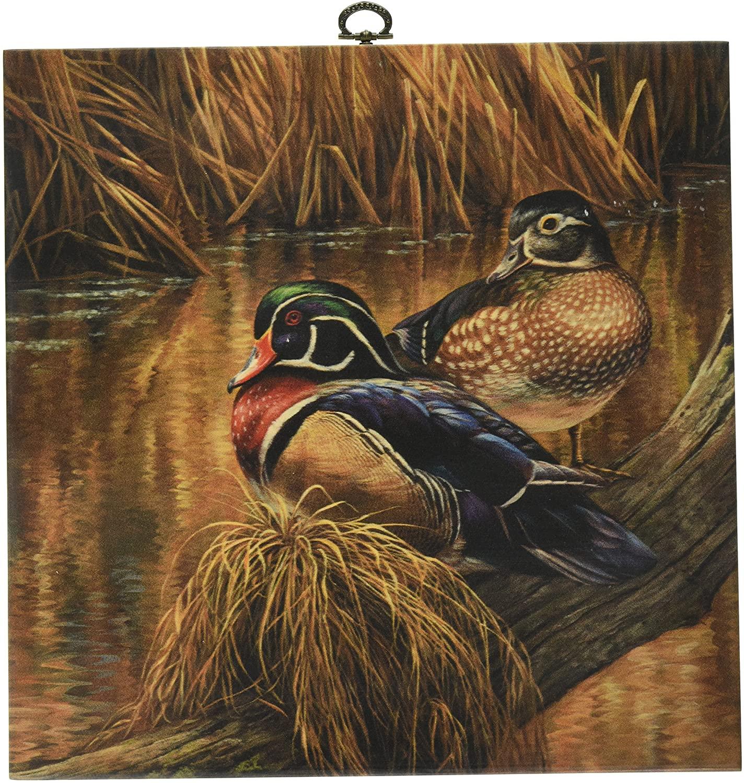 WGI-GALLERY Back Waters Wood Duck Cutting Board, 12