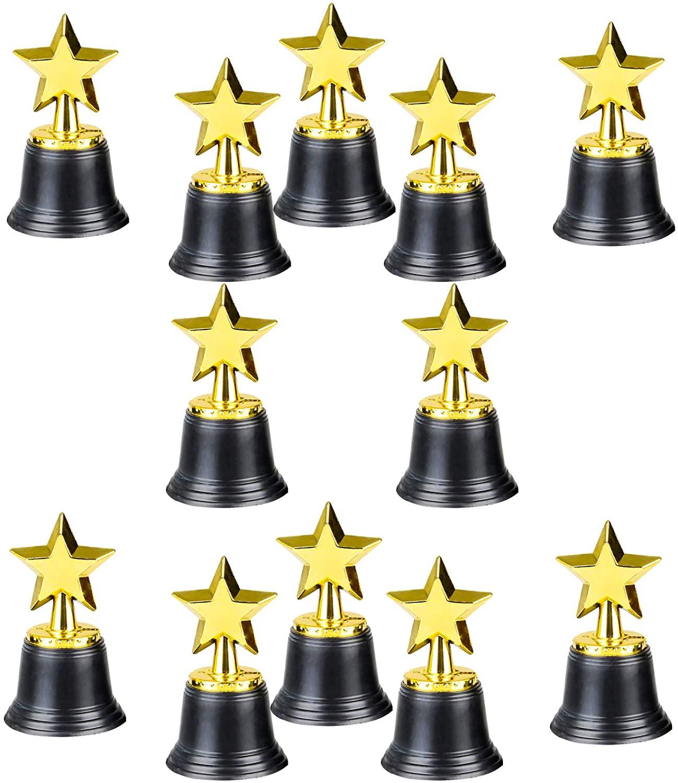 Gold Award Star Trophy – Gold Winner Rewards Prizes - Play Kreative