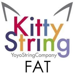 Kitty String Yo-Yo String 100 Pack - FAT (White)