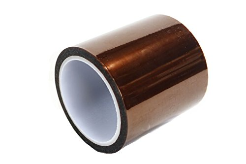 Kapton 18-1S Polyimide Tape with Silicone Adhesive, 5.25