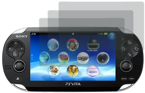 LCD Screen Film Guard Screen Protector for Sony Playstation PS Vita x3 -Clear