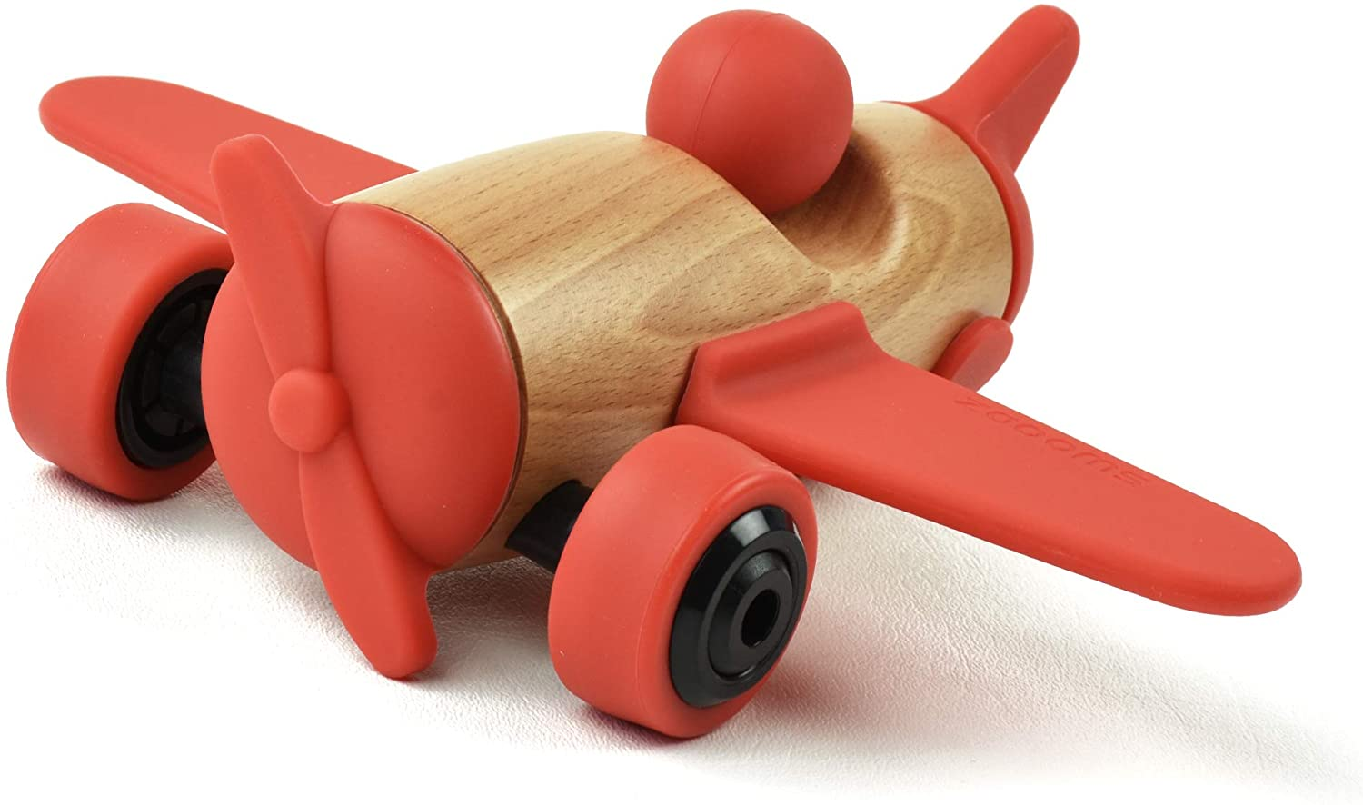 SWOODZ Wooden Toy Vehicles, Take Apart Plane, Assembly Wooden Toys, Wooden Plane, STEM Learning Gifts for 3 4 5 6 Year Olds, Kids, Toddlers, Boys, Girls, Children