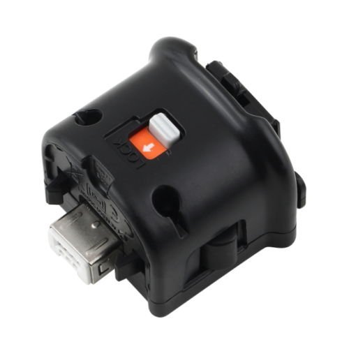 Motion Plus Motionplus Adapter Sensor for Nintendo Wii Remote Controller Black S