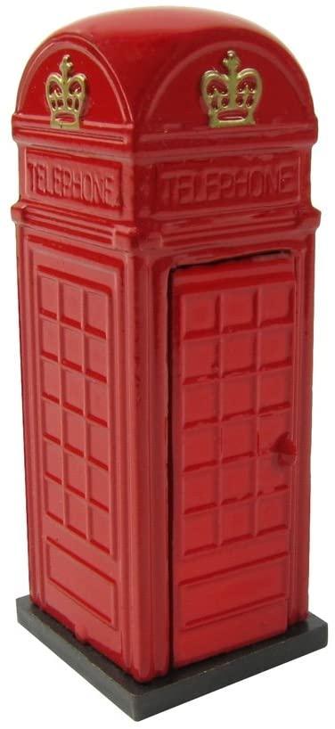 Treasure Gurus 1:24 UK Phone Box G Scale Model Train Accessory Pencil Sharpener