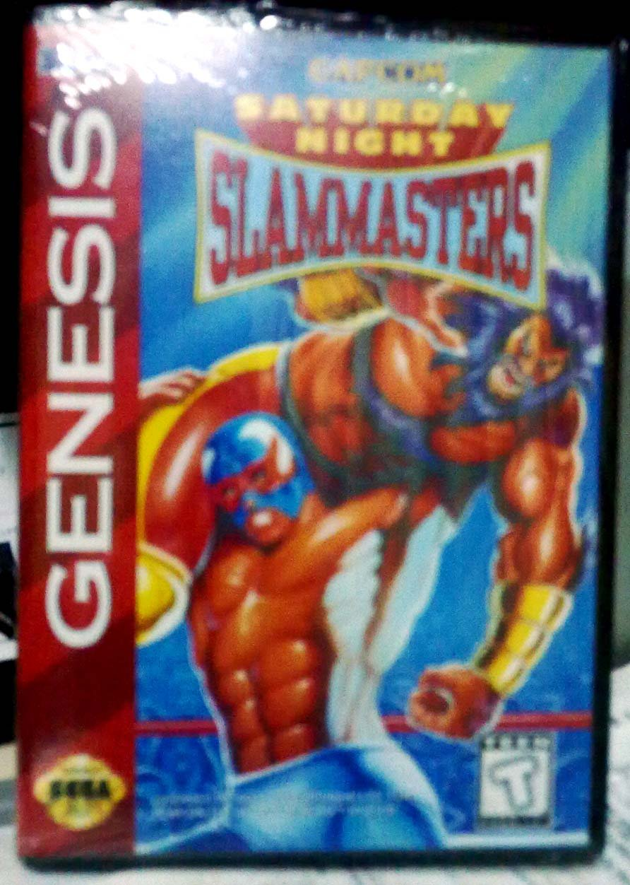 Saturday Night Slam Masters - Sega Genesis